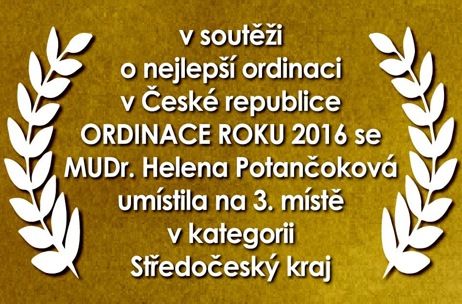 Ordinace roku 2016