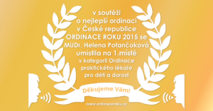 Ordinace roku 2015